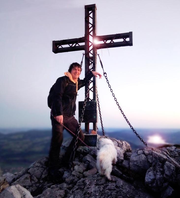Mit Hund zum Gipfelkreuz