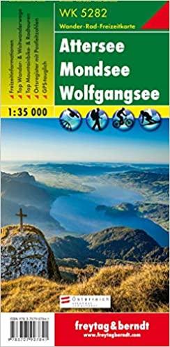 Attersee - Mondsee - Wolfgangsee, Wanderkarte 1:35.000