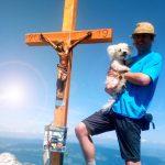 Bergwanderung mit Hund zum Schoberstein und Mahdlgupf