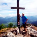 Bergtour mit Hund auf den Sparber, Wolfgangsee
